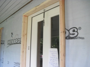 Deep Energy Retrofit - 2x4 Door Frames