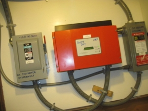 Solar Energy Services - 2003 grid-tied SMA inverter
